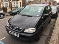 2005 VAUXHALL ZAFFRA AUTOMATIC WITH FULL MOT HISTROY 7 SEATER ****895****