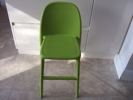 Ikea toddler high chair for those old enough to not need fastening in, but need a booster seat