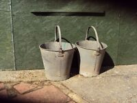 Heavy Duty Galvanise Buckets
