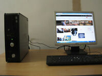 Fast Dell PC E4500 Core2-Duo 2.20Ghz x 2, 4gb, win 7, entry level gaming PC. tower £50, full £60