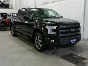 "2015 Ford F-150 4WD SuperCrew 145"" Lariat Sport W/ SUNROOF, LTHR"