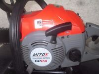 Mitox 6224 chainsaw as new