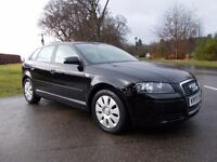 2008 08 AUDI A3 1.9 TDI SPECIAL EDITION 5 DOOR SPORT BACK