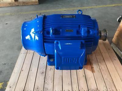 Electric Motor. 4045ts 100 Hp 60 Hz 2poles 3545 Rpm 208-230460v. Sf 1.25.