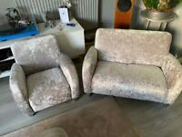 Beautiful child's sofa & chair
