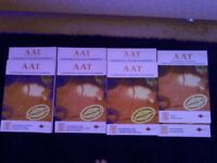 AAT Textbooks and workbooks units 1, 2 ,3 ,19, 21-25 by Foulks Lynch