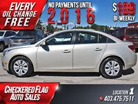 2013 Chevrolet Cruze LT Turbo W/ Low KM's-Back Up Cam-Touch Scre