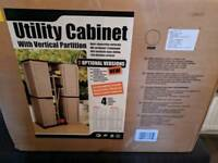 Utility Cabinet With Vertical Partition