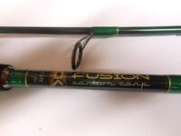 Carp Kinetics Fusion Carbon Carp 12 foot 2 1/2lb AS NEW