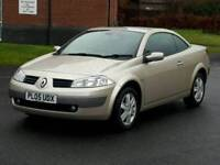 RENAULT MEGANE 1.6VVT CONVERTIBLE WITH FULL COMPREHENSIVE SERVICE HISTORY IMMACULATE CONDITION