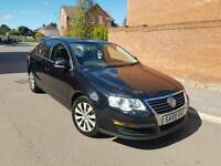 2010 VOLKSWAGEN PASSAT 2.0 TDI CR S BLUEMOTION 4 DOOR SALOON BLACK LOW MILEAGE F.S.H 1 OWNER 2 KEYS