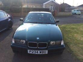 BMW 323i, straight 6, manual,
