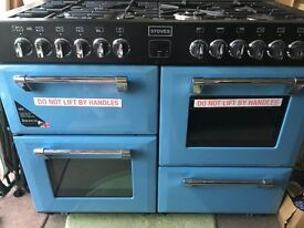 Stoves Richmond 1100DFT Days Break 110cm Dual Fuel Range Cooker