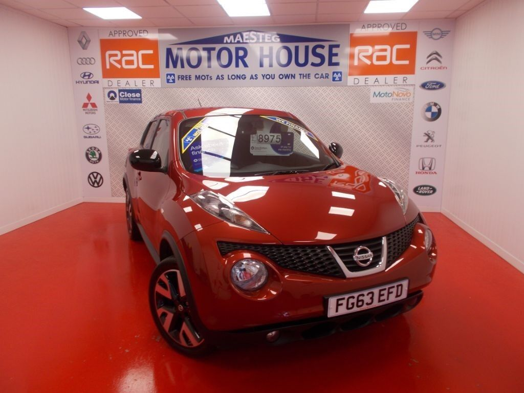Nissan Juke N-TEC(SAT&REVERSING CAMERA) FREE MOT'S AS LONG AS YOU OWN THE CAR!!! (red) 2013