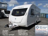 2012 SWIFT COASTLINE ESPRIT - ONE OWNER - SUPERIOR SPEC - 4 BERTH - FIXED BED - WARRANTY
