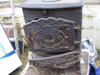 Small Multi Fuel Cast Iron Stove Including all parts