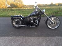 AJS EOS 125 CUSTOM CHOPPER STYLE LEARNER LEGAL MOTORCYCLE CHEAP EASY PROJECT
