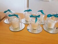 Small dome realigns candles wedding decoration