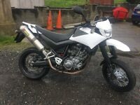 Yamaha xt 660x supermoto 2008