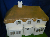 Rare Triang thatched dolls house