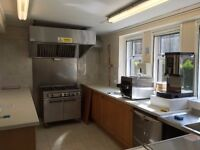 complete commercial Kitchen extraction plus other items