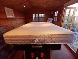 IKEA HYLLESTAD Pocket sprung mattress, firm/white, Standard King