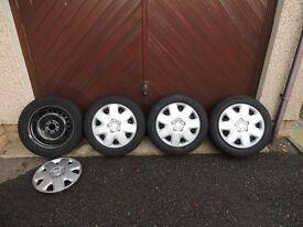 Volvo Steel Wheels with Winter Tyres - Winter Is Coming!