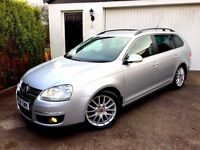 **STUNNING** 2008 VOLKSWAGEN GOLF SPTORTLINE 2.0 TDI SILVER ESTATE MANUAL DIESEL