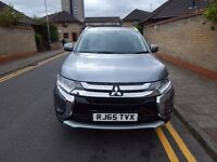 2015 MITSUBISHI OUTLANDER GX4 Di-D 4WD 2268cc Turbo Diesel Automatic 6 Speed 5 Door SUV