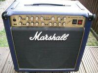 "Marshall 6101 30th Anniversary 100 watt 1 x 12"" Combo electric guitar amplifier - '92 - Blue Tolex"