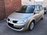 Renault Scenic 1.6 Dynamique 2007- Full History 10 Stamp, 1 Owner, 12 Months MOT, Cambelt Done £1295