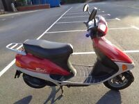 1996 HONDA SJ50 BALI 50 2T SCOOTER MOPED PED ORIGINAL VGWO SUPERB NEW MOT