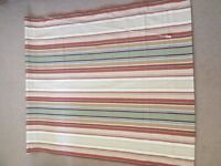 Roman blind multi stripe L147cm x W125cm