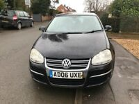 VW JETTA BLACK NEW ENGINE FITTED 2006 DIESEL TURBO