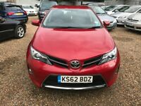 TOYOTA AURIS 1.6 V-Matic Icon 5dr (red) 2013