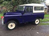 LAND ROVER SERIES 3 88 INCH 2.25 PETROL