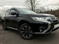 Details about 2016 Mitsubishi Outlander GX4H PHEV - only 1595 miles - Pearl Black - hybrid