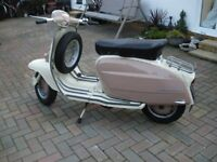 LAMBRETTA Li 150 Series 3 1962 registered as a 125