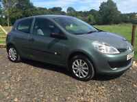 2007 RENAULT CLIO 1.5 DCI £30 ROAD TAX 3DR FULL MOT FEB 2017 CREDIT AND DEBIT CARDS ACCEPTED