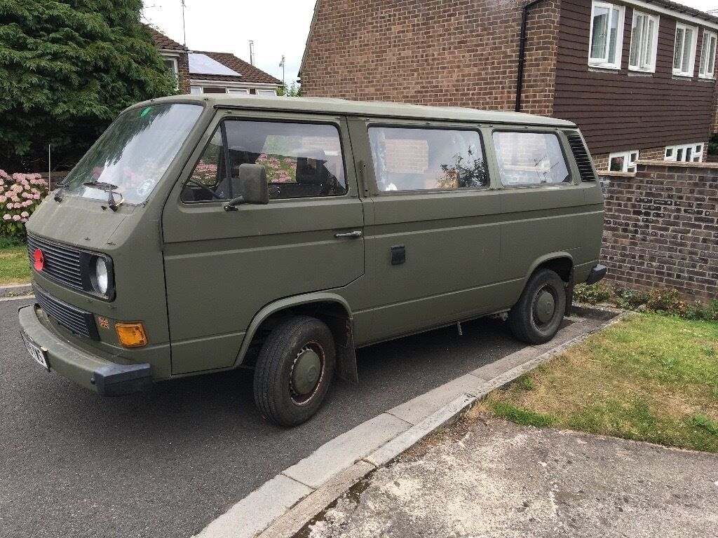 Classic Vw T25 Ex German Army Ambulance Converted To A