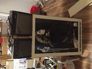 2 amps and Jim Morrison photo