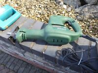 Selection of electric saws