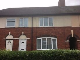 TO LET - THREE BEDROOM TERRACE HOUSE NUNEATON