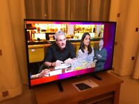 """Bush 50"""" 4k ultra hd internet led tv. Excellent condition.Fully working £270 NO OFFERS.CAN DELIVER"""