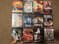 Dvd collection, eastern/martial arts