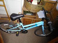 Bike - serria terrain child's blue bike for sale. 6 gears £60 or nearest offer