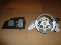 Mad Catz Steering wheel for Xbox 360 and PC
