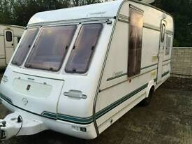 Compass connoisseur 2 berth 1996 touring caravan
