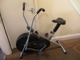 V-fit Excise Bike. Full fitness workout. With digital readout.