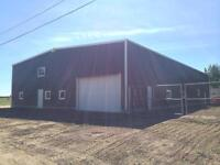 6000sqft Shop for Rent- Weyburn Area - 15000 sqft fenced yard